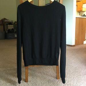 Cozy Wildfox Soft Black Sweater Small